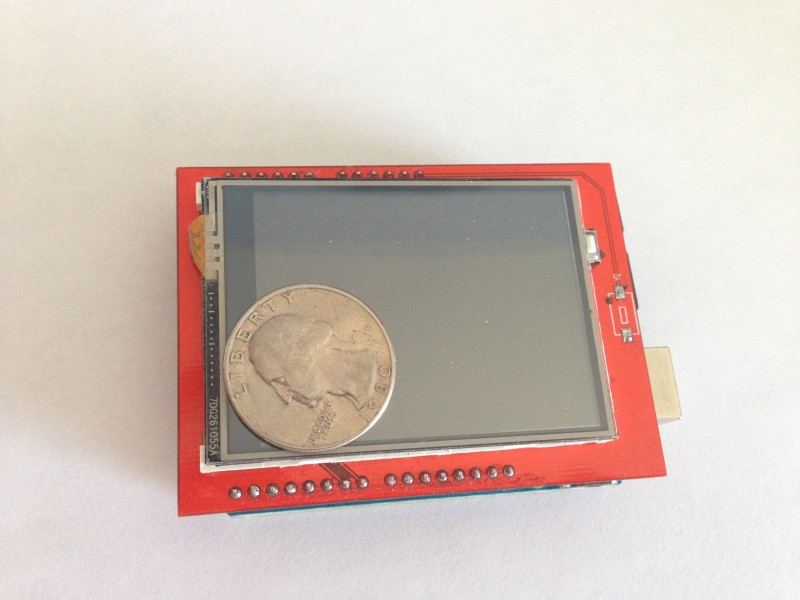 Touch Screen Shield for Arduino UNO – misc ws